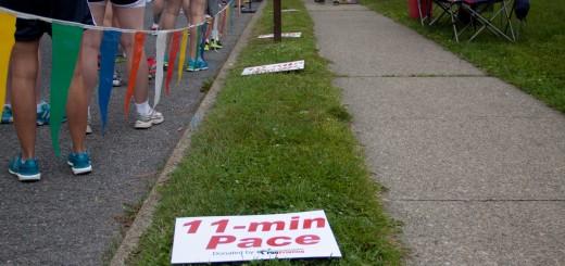 5K Paceline Markers