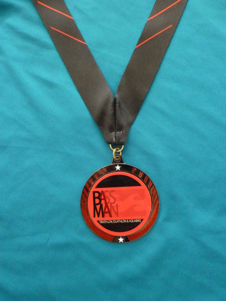 Bassman Sprint Triathlon Medal